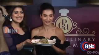 getlinkyoutube.com-Malaika Arora At  Launch Of The Palate Culinary Academy