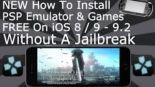 getlinkyoutube.com-Install PSP & Games FREE On iOS 9 / 10 - 10.2 NO Jailbreak iPhone, iPad, iPod Touch PPSSPP