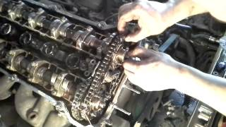 getlinkyoutube.com-Double vanos disassembly bmw 525i 2003 complete 1/3
