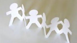 getlinkyoutube.com-Cómo hacer cadeneta con papel