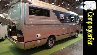 getlinkyoutube.com-【セブンシーズ】トヨタ コースターベースの高断熱でスタイリッシュなバスコン Japanese Campingcar Motorhome