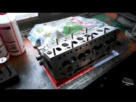 """ГТ"" Рено Кенго 1.9д (двиг F8T,F8Q) Работа с ГБЦ, установка, метки ГРМ, первый запуск!"