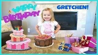 getlinkyoutube.com-GRETCHEN'S 3RD BIRTHDAY | FAMILY VLOG | THE WEISS LIFE