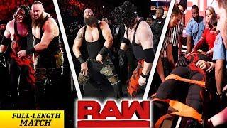 Braun Strowman vs  Kane - Last Man Standing Elimination Chamber Qualifying Match