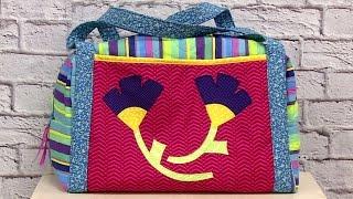 getlinkyoutube.com-Costura Criativa - Bolsa de viagem - Lia Pavan