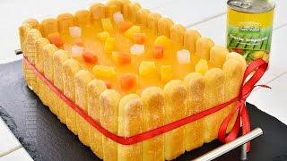 getlinkyoutube.com-Tort diplomat cu fructe tropicale (CC Eng Sub) | JamilaCuisine