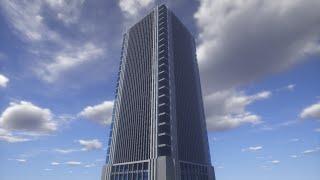 getlinkyoutube.com-【Minecraft】新・3分でわかる!高層ビル建築講座【Part1】