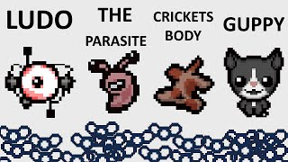 The Binding Of Isaac: Rebirth - LUDO + THE PARASITE + CRICKETS BODY + GUPPY - SICK COMBOS Ep. 39