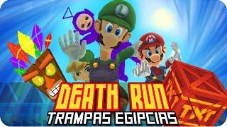 getlinkyoutube.com-DEATHRUN CRASH! TRAMPAS EGIPCIAS! |  Garrys Mod Death-Run con Exo, Macundra, Sarinha y Luh
