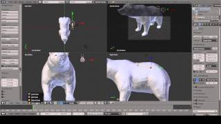 getlinkyoutube.com-Blender | Animation and Bone Tutorial