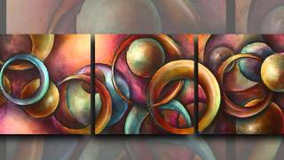 getlinkyoutube.com-Paintings a random collection of Gallery ART created by Michael Lang - not a demo.