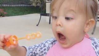 getlinkyoutube.com-Funny Babies Blowing Bubbles For The First Time Compilation 2016 [NEW VIDEOS]