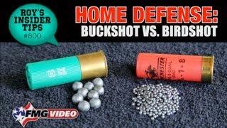 Home Defense: Buckshot vs. Birdshot