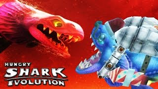 getlinkyoutube.com-Hungry Shark Evolution - Alan, DOW vs Enemy Alan, DOW