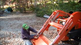 making a kubota bucket level indicator
