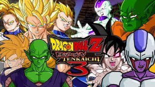 getlinkyoutube.com-DragonBall Z Budokai Tenkaichi 3: Z Fighters VS Ghost Warriors [Team Battle] (Live Commentary)