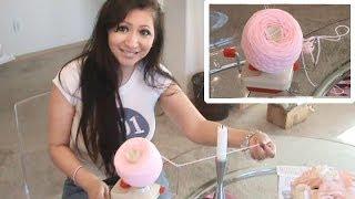 getlinkyoutube.com-Glama's Wool Yarn Winder Demo...It Really, Really Works!