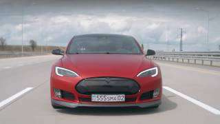 getlinkyoutube.com-DT Test Drive — Tesla Model S P90D & P85D