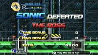 getlinkyoutube.com-Sonic the Hedgehog 4: All Bosses Demonstration
