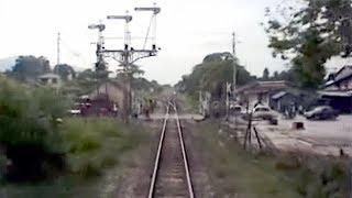 getlinkyoutube.com-マレーシア・急行列車後方展望 1996 (KL-Taiping) KTM Sinaran Pagi - Rear View