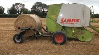 getlinkyoutube.com-Doyle Engineering Bale Buggy See it the National Ploughing Championships 2011