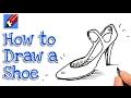 שיעורים » חינוך ולימודים » הדרכה » איך מציירים נעל של אישה