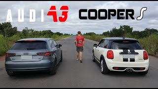 getlinkyoutube.com-AUDI A3 VS MINI COOPER S