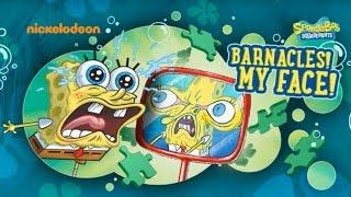 getlinkyoutube.com-SpongeBob Squarepants Barnacles My Face - Cartoon Game for Kids - New SpongeBob