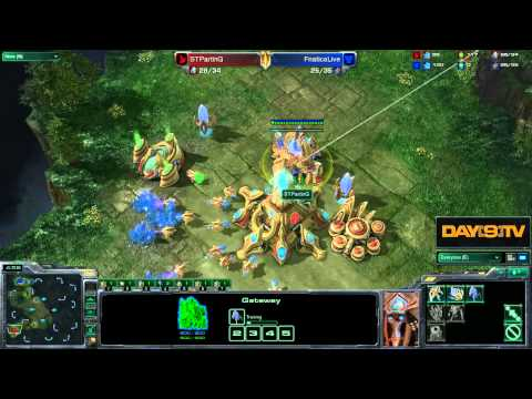 Day[9] Daily #450 P1 - Parting's PvT Gateway Style!