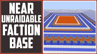 getlinkyoutube.com-Near Impossible Unraidable Base - 7 x 7 Chunks [Download, Tutorial & Explanation]