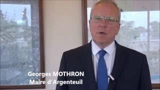 G. Mothron Maire d'Argenteuil parle du GARAC