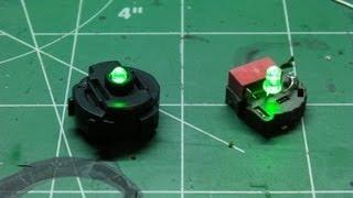 getlinkyoutube.com-How to make a Gundam LED Unit