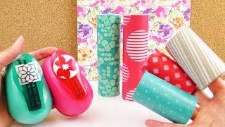getlinkyoutube.com-NEUER Tchibo Haul | Riesiges Washi Tape für den Frühling & Maxi Stanzer für Blumen | DIY Shopping