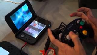getlinkyoutube.com-Nintendo 3DS XL + New Loopy Gamecube Mod + Smash Bros Demo