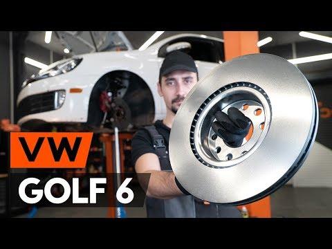 Как заменить передние тормозные диски на VW GOLF 6 (5K1) (ВИДЕОУРОК AUTODOC)