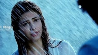 Ramayya Vasthavayya Telugu Movie Scenes - Shruti Hassan Rain Scene - NTR, Samantha width=