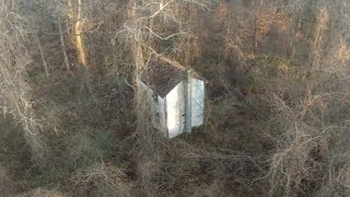 I found a free abandoned house in the woods on a property I own.