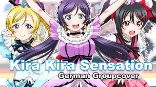 getlinkyoutube.com-Kira Kira Sensation! [German] - Cover [Love Live! School Idol Project]