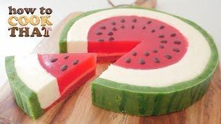 getlinkyoutube.com-SUMMER WATERMELON DESSERT How To Cook That Ann Reardon Watermelon Week