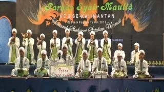 getlinkyoutube.com-Penampilan Ponpes Baabussalam Pada Parade Syair Maulid Ke-8 Se-Kalimantan 2012