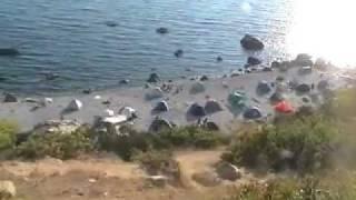 getlinkyoutube.com-Форос Дикий нудистский пляж Фороса  ч.1