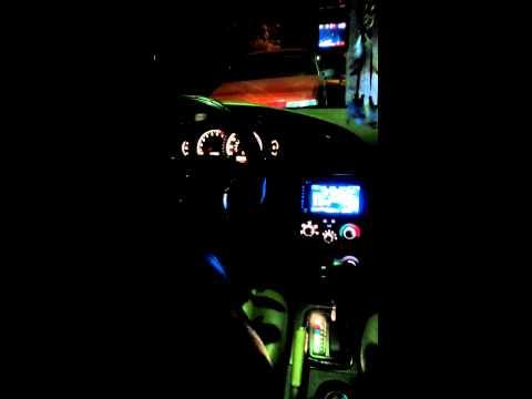 Пересвет приборной панели Hyundai Elantra 3