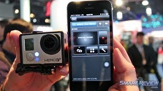ces 2014 | gopro hero3+ action cam demonstration | black edition hero3 plus | wifi | smart review