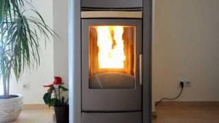getlinkyoutube.com-Idrofast Pellet Thermo Stove