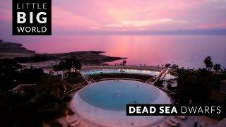 Dead Sea in Jordan (Time-Lapse ,Tilt-Shift)