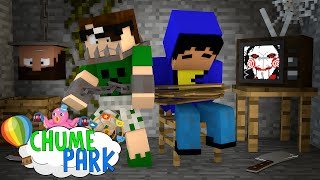 getlinkyoutube.com-Minecraft: CASA DO TERROR! (Chume Park #5)