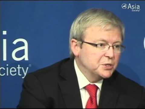 Kevin Rudd: A 'Significant Gamble' in Burma
