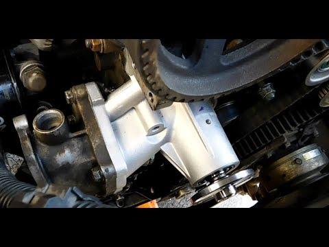 Замена водяного насоса (помпы) Паджеро спорт 1, 4D56.