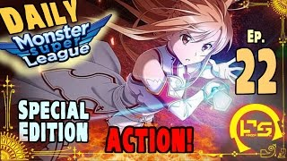 getlinkyoutube.com-Monster Super League ACTION SPECIAL!! FANTA GET'S COACHED BY TOP 150 PVPER (Ft. BlondAsuna) ♕Ep.22