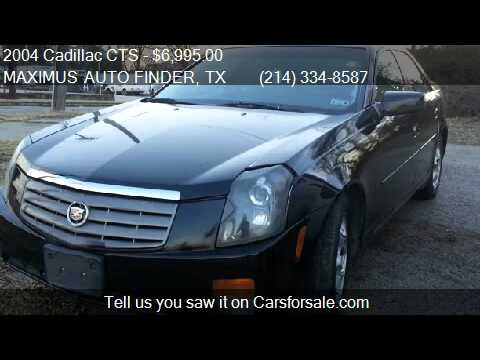 2004 Cadillac CTS Base for sale in Dallas, TX 75217 at MAXIM